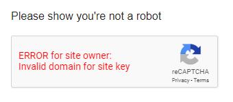 Google Scholar Captcha Error