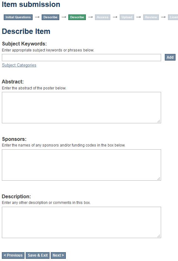 ScholarWorks submission description part 2